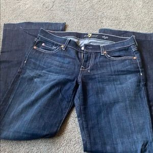 7 for all mankind dojo jeans. Inseam 33""